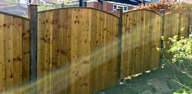 Garden fence installations'