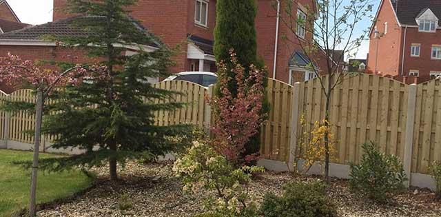 garden fences sheffield west yorkshire